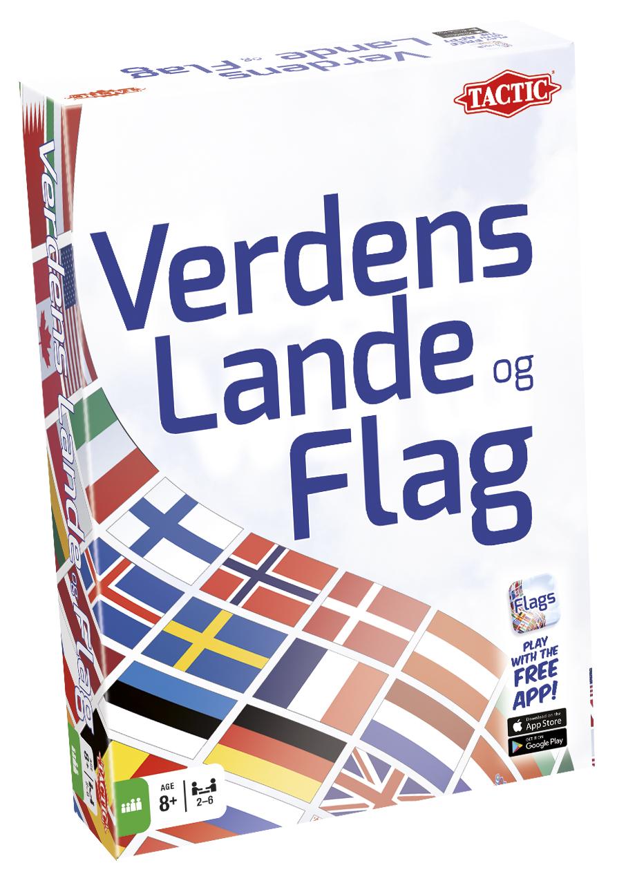 Verdens lande & flag brætspil
