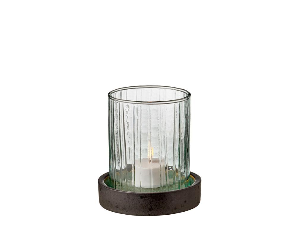 Bitz Hurricane med LED, 11 cm, grøn