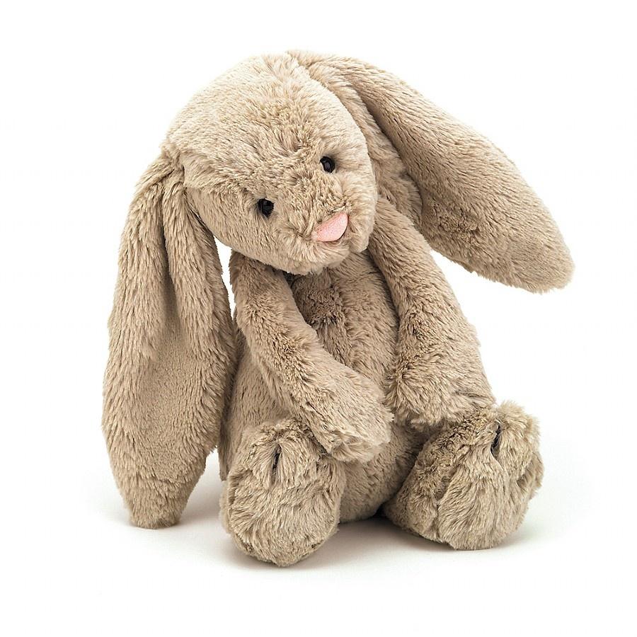 Jellycat, Bashful kanin, 31 cm, beige