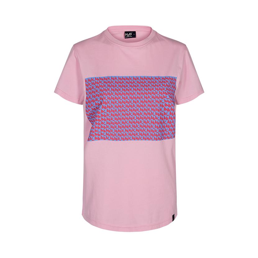 H2O Kerteminde t-shirt, light pink, medium