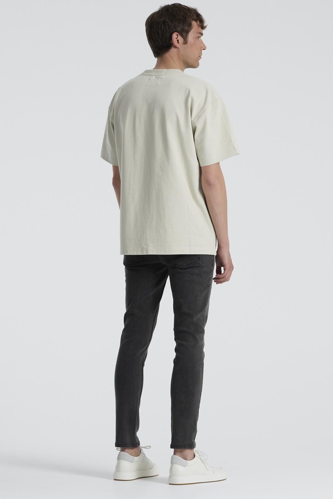 Denim Project Mr. Red Jeans, Grå, W32/L32