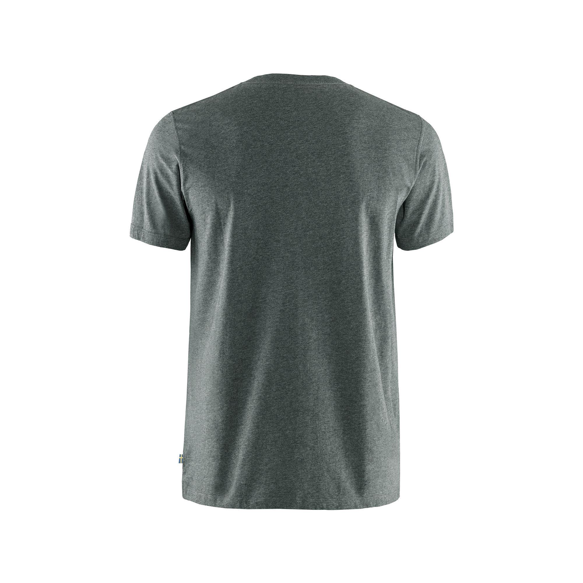 Fjällräven Lägerplats t-shirt, stone grey, small