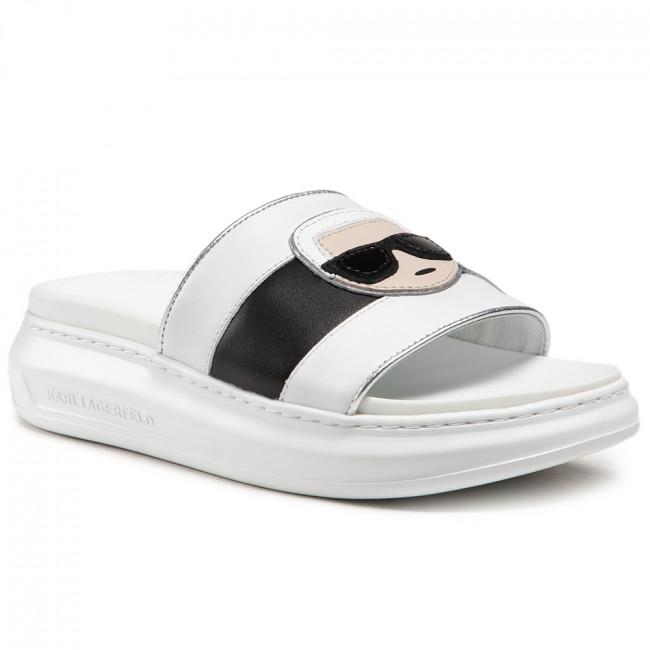 Karl Lagerfeld Ikonic slippers, white, 39