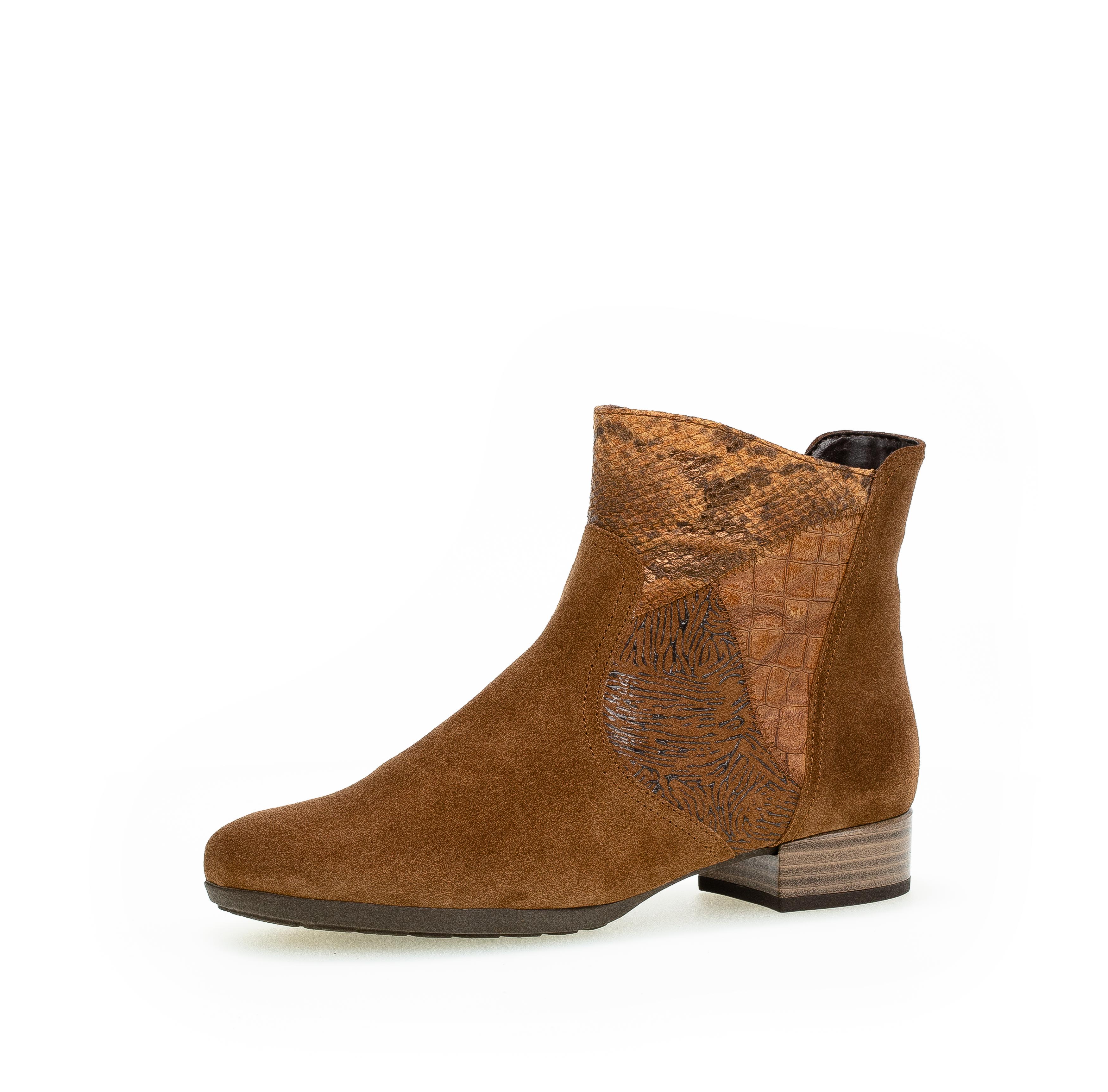 Gabor 72.713.41 Ankle boots, Cognac, 36