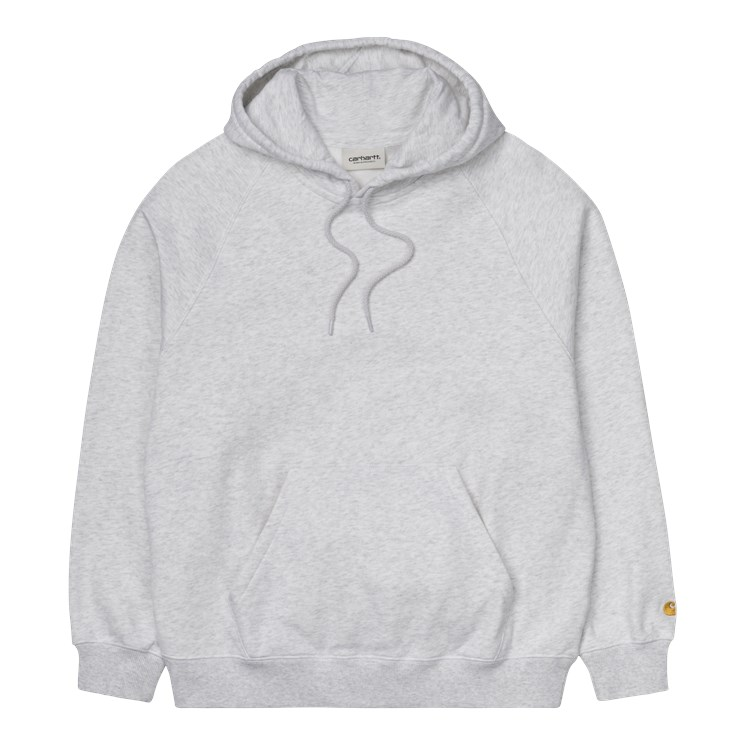 Carhartt W' Chase hoodie, ash heather, large