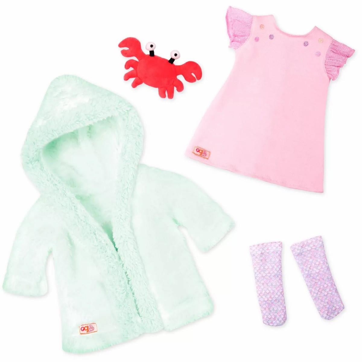 Our Generation deluxe dukketøj, natkjole - havfrue
