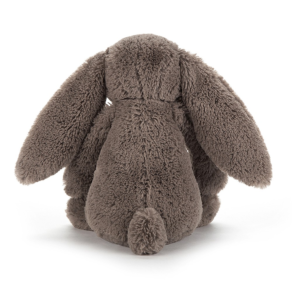 Jellycat, Bashful kanin, trøffel, 31 cm