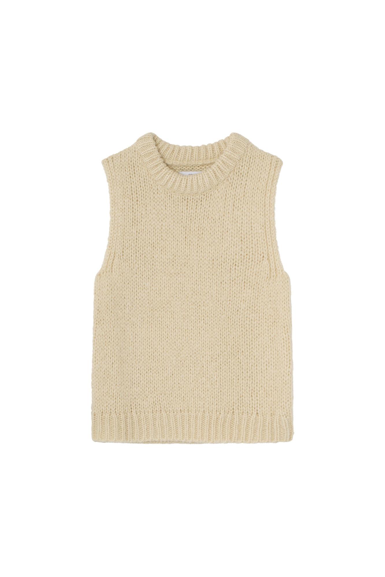 Envii Entrepka knit west, seedpearl mel, x-small