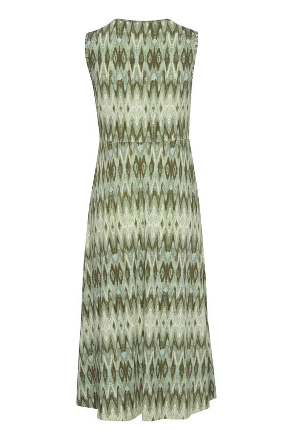 Fransa Jersey kjole, aqua foam mix, medium