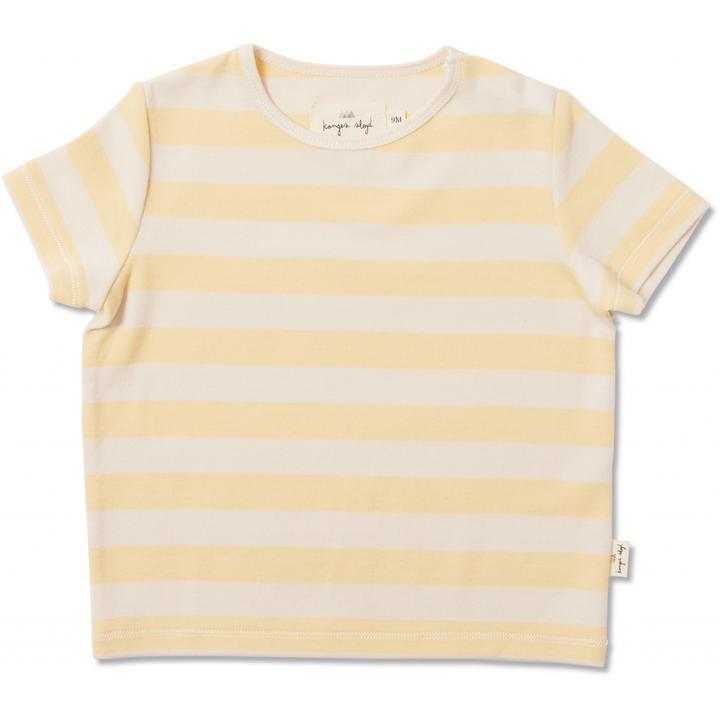 Konges Sløjd Bali T-shirt, Golden Haze, 86 cm / 18 mdr.