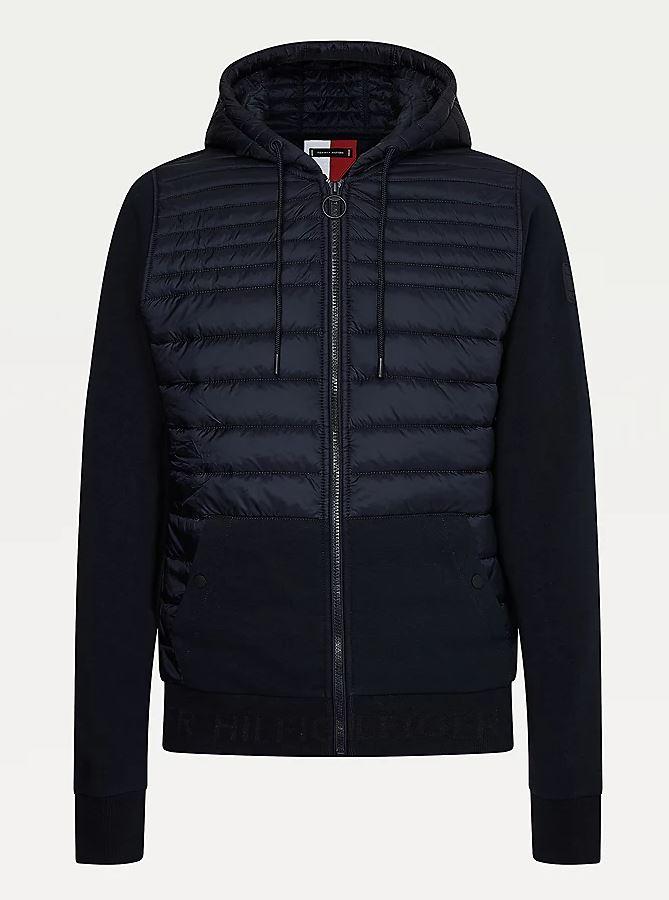Tommy Hilfiger Quilted Zip-Thru sweatshirt
