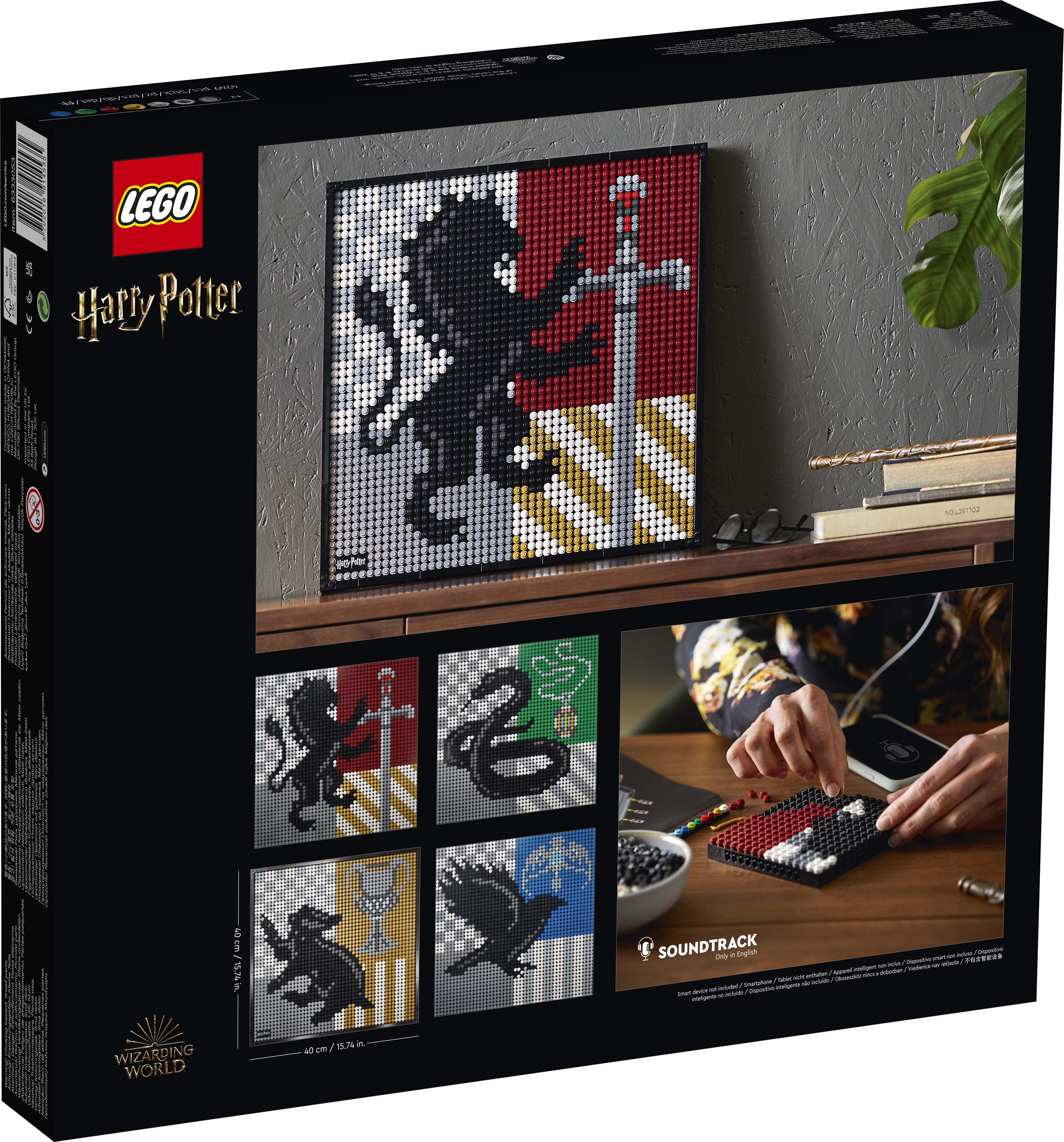 LEGO Art Harry Potter Hogwarts-våbenskjold - 31201