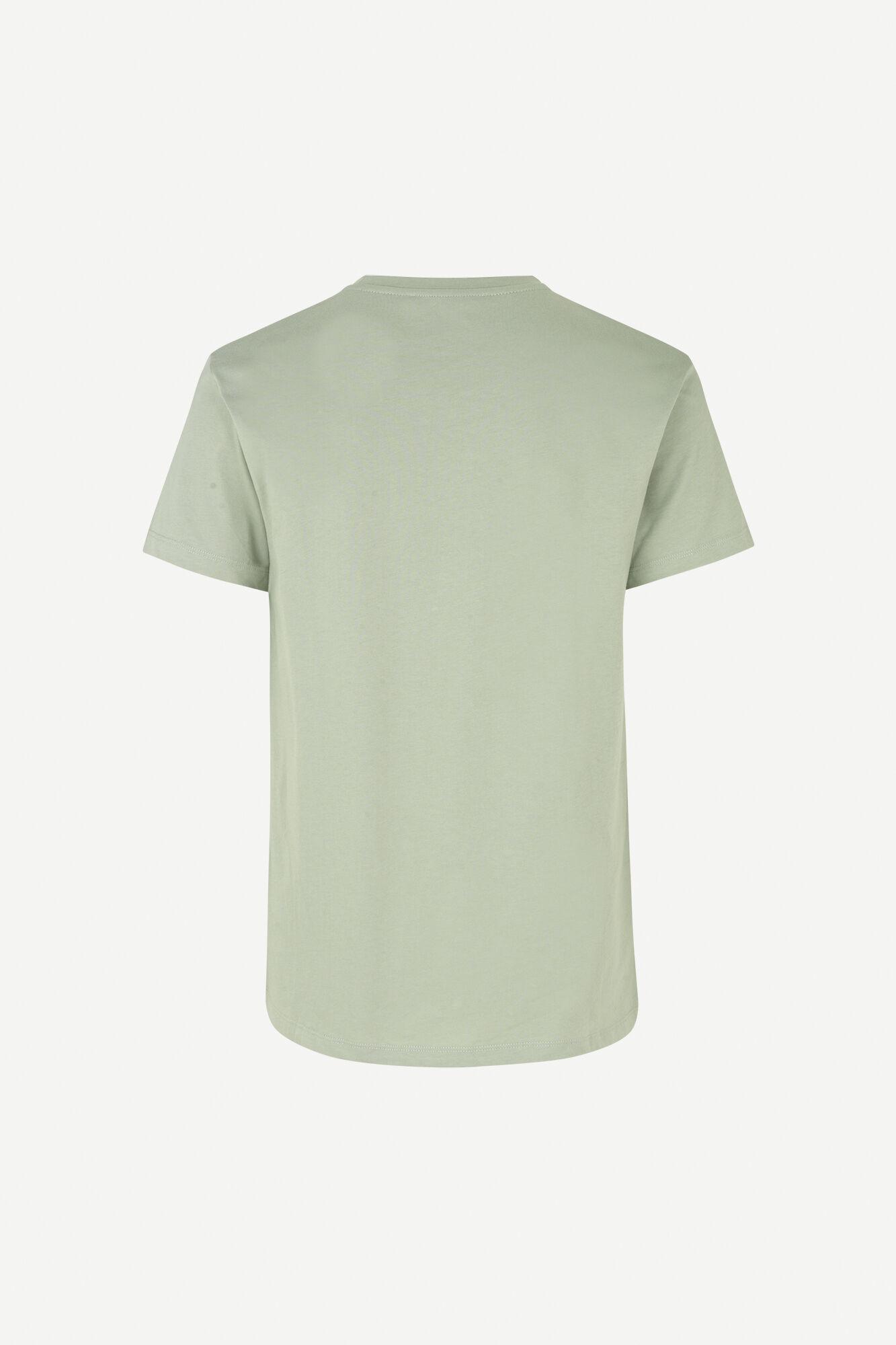 Samsøe & Samsøe Kronos O-N S/S t-shirt, seagrass, large