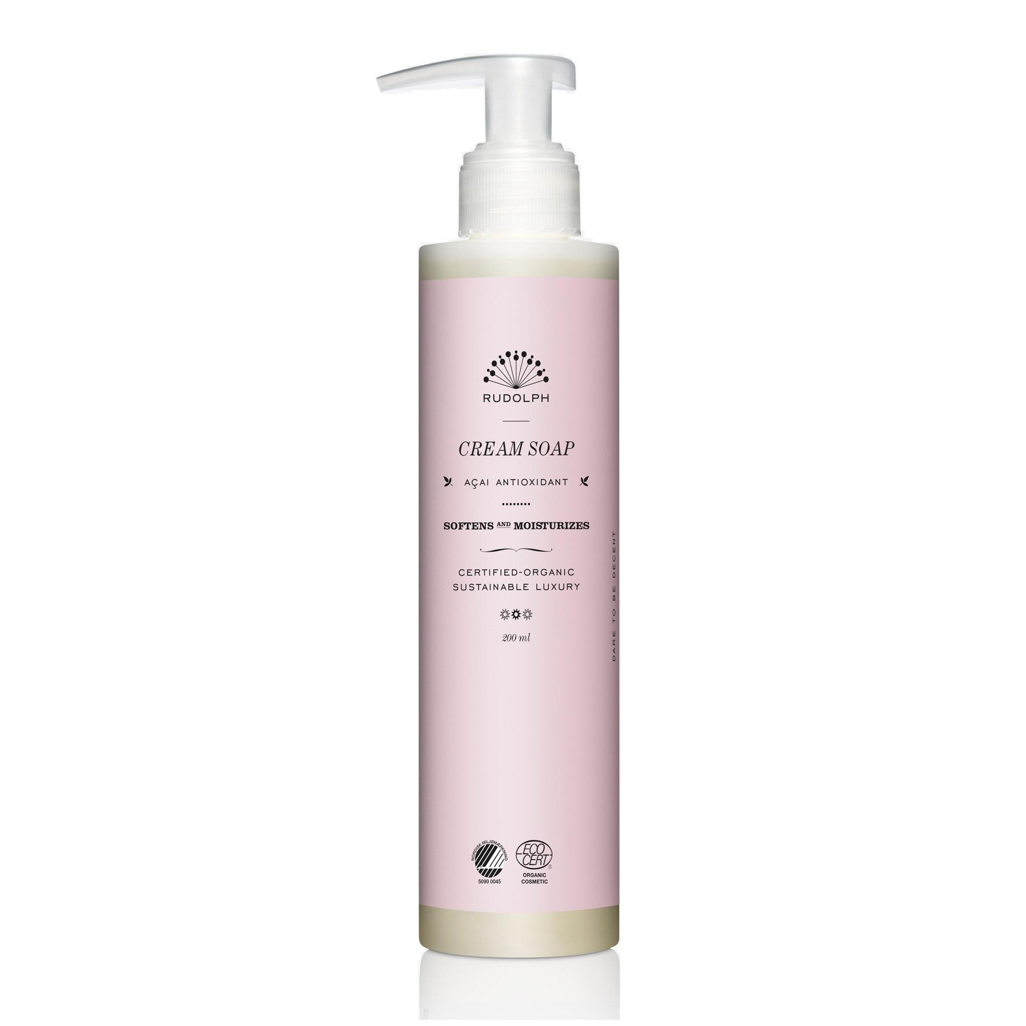 Rudolph Care Acai Cream Soap, 200 ml