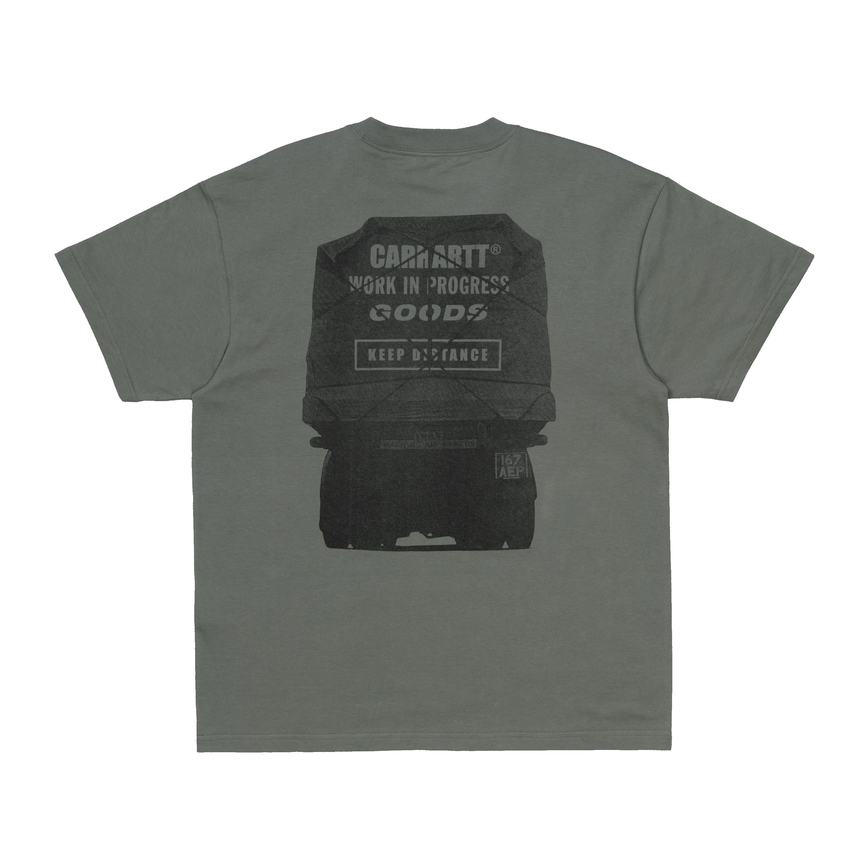 Carhartt Goods SS t-shirt, thyme, large