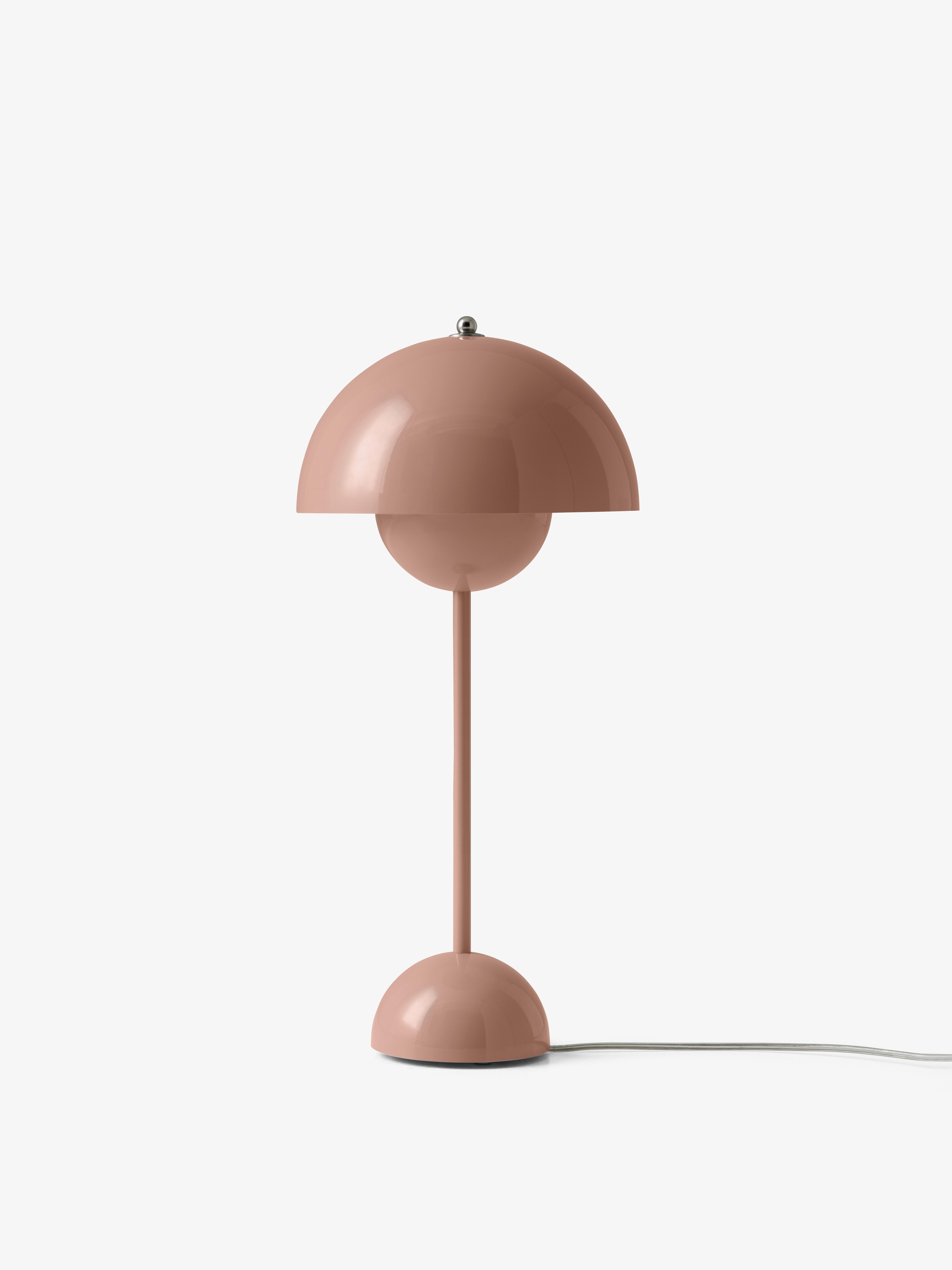 &tradition Flowerpot VP3 bordlampe, Ø23 cm, beige red
