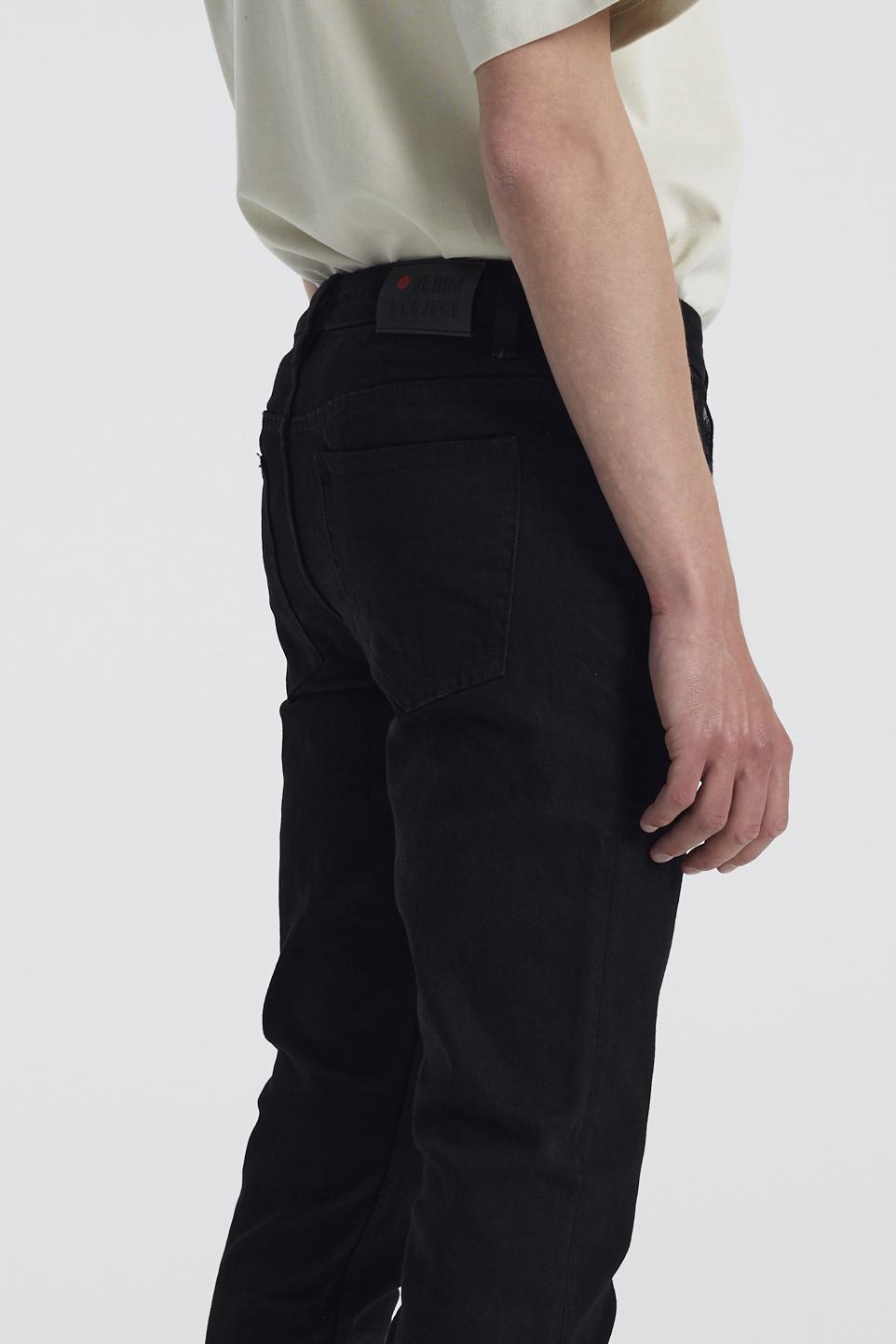 Denim Project Mr. Red Jeans, Sort W29/L30