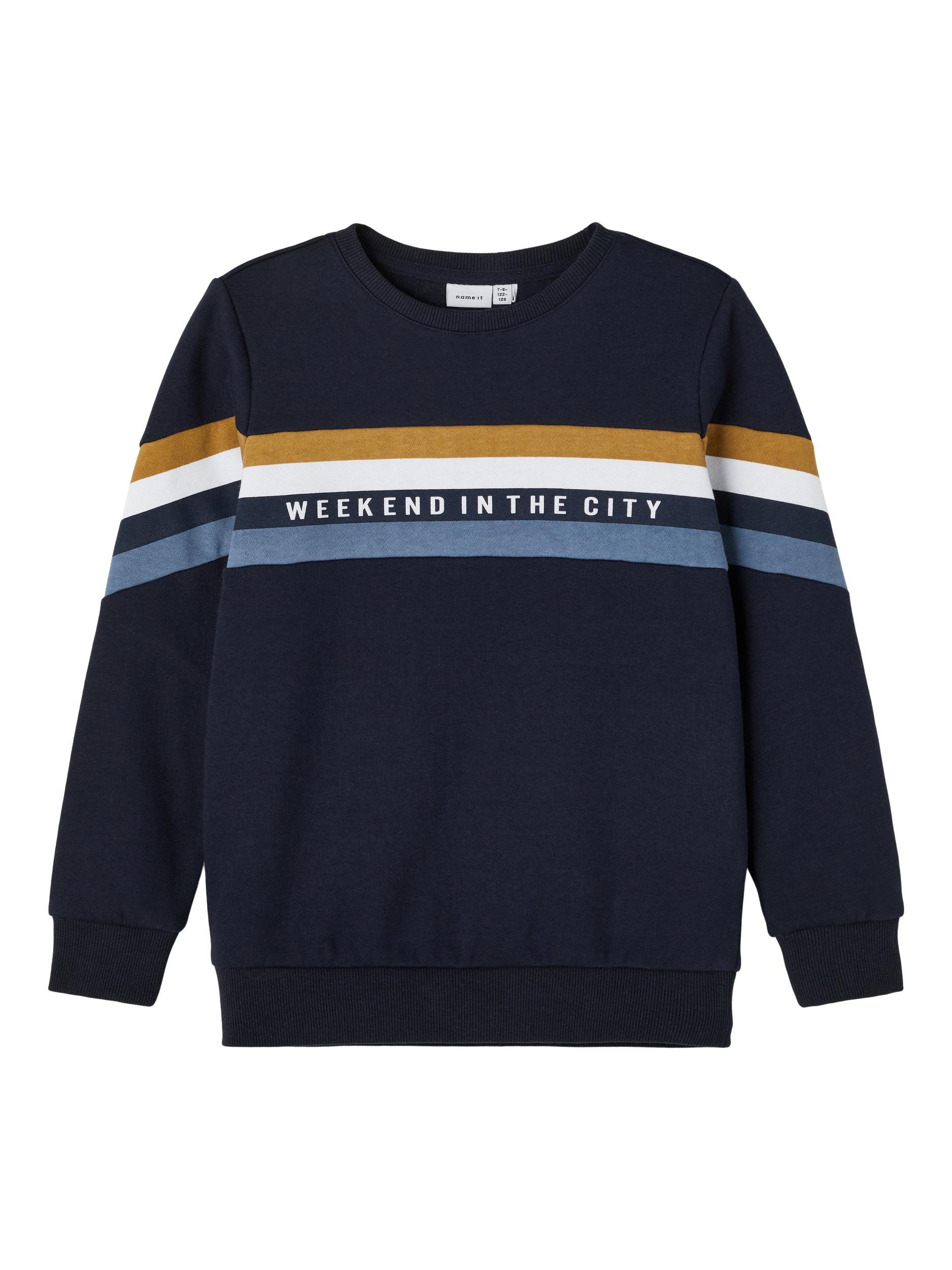 Name It Moton sweatshirt, dark sapphire, 116 cm