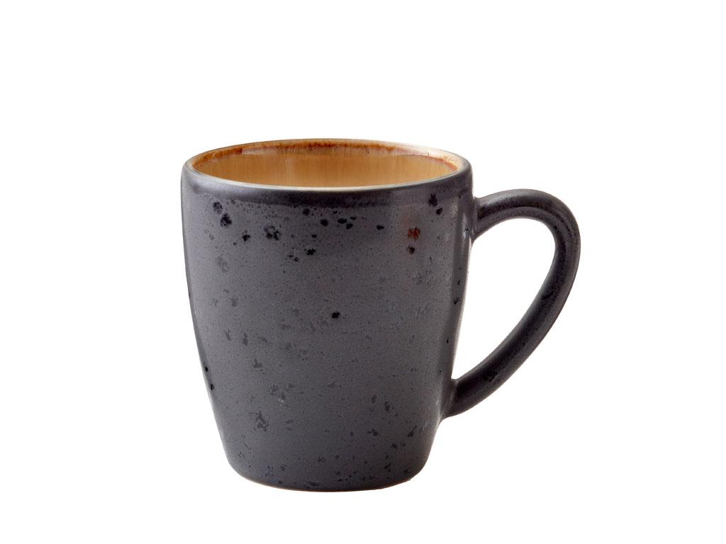 Bitz krus, 190 ml, sort/amber