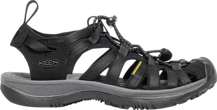 Keen Whisper sandal, black magnet, 37