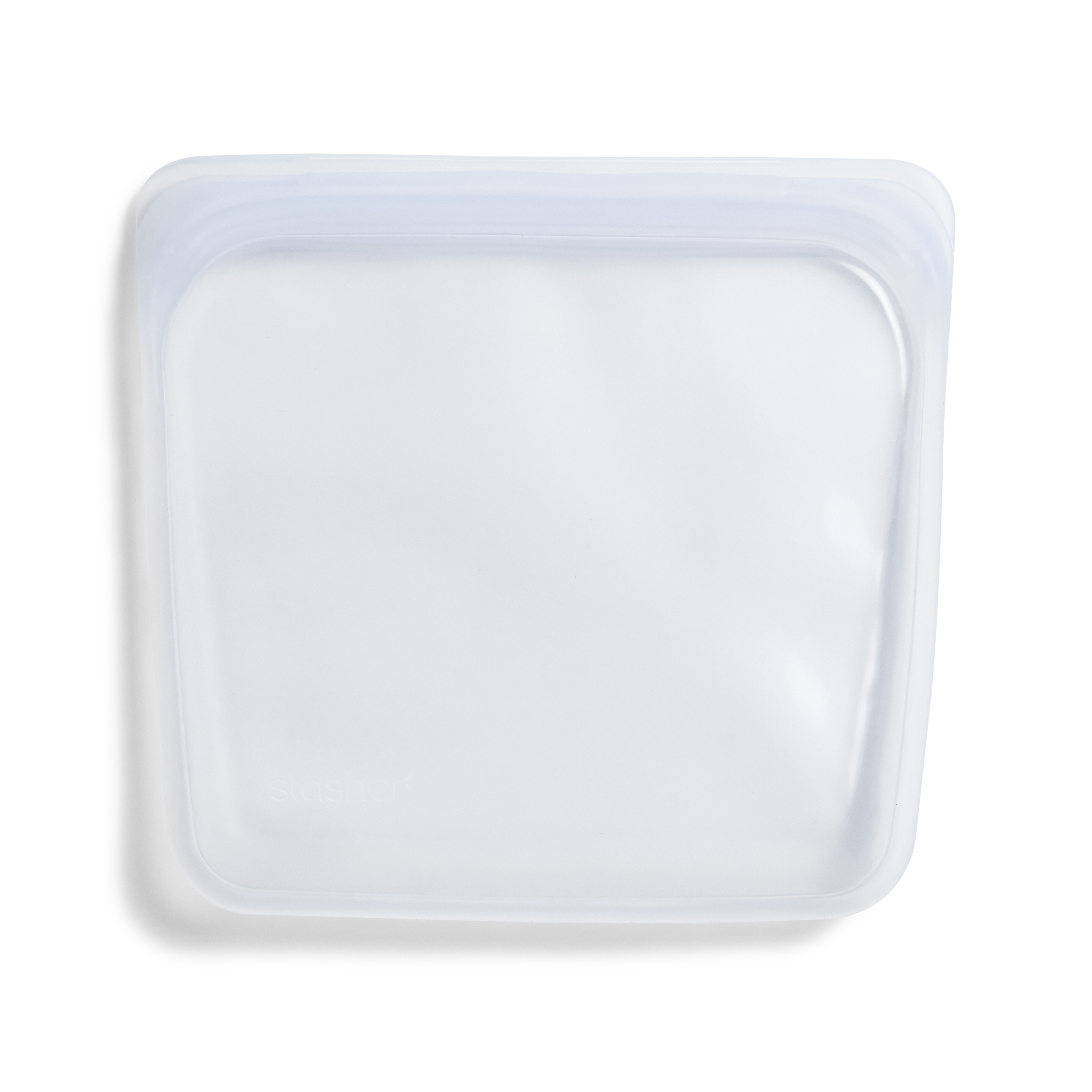 Stasher Sandwich genanvendelig pose, 18x19 cm, klar