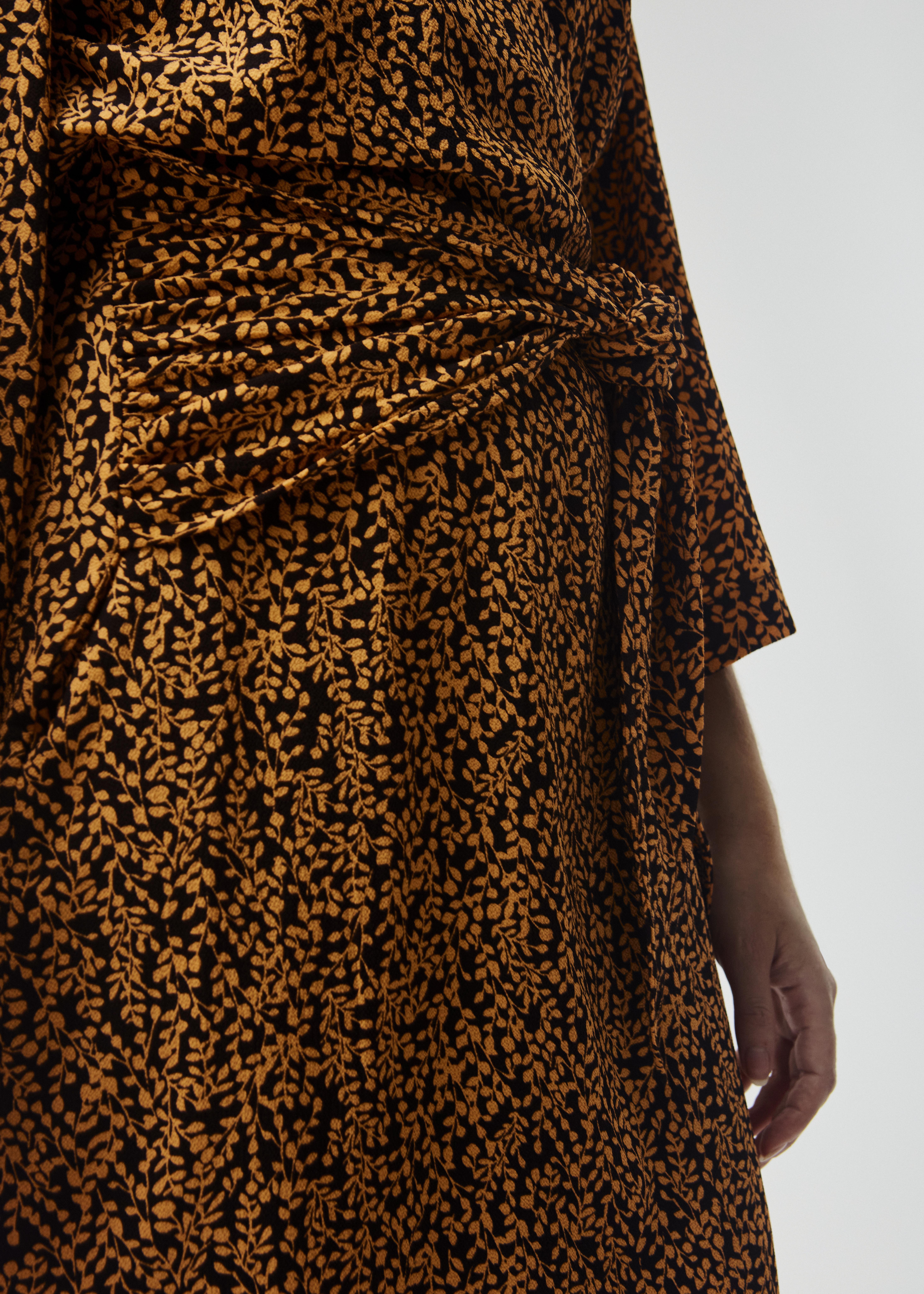 Modström Isabella kjole, apricot leaf, small