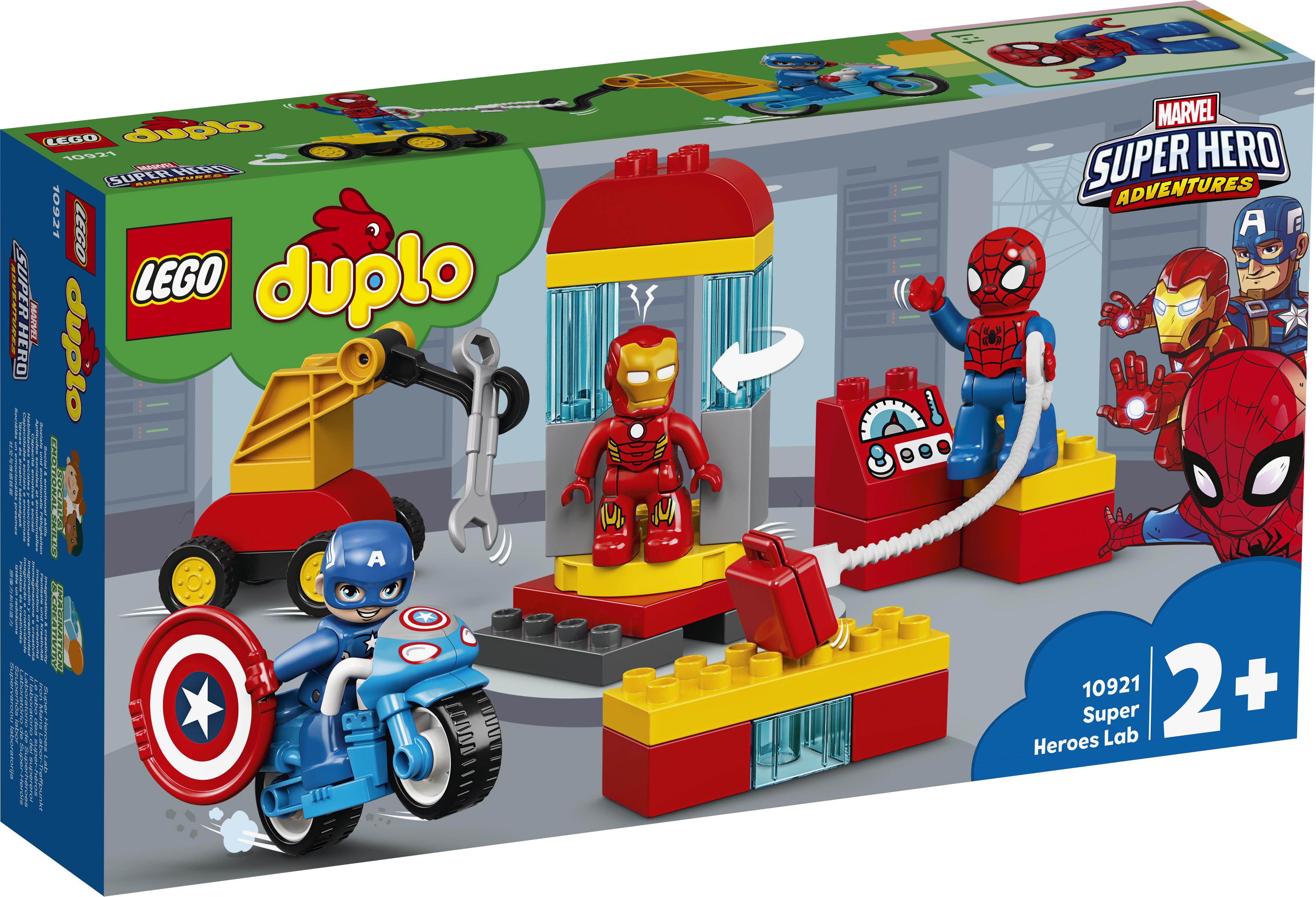 LEGO DUPLO Superhelte-laboratorium - 10921