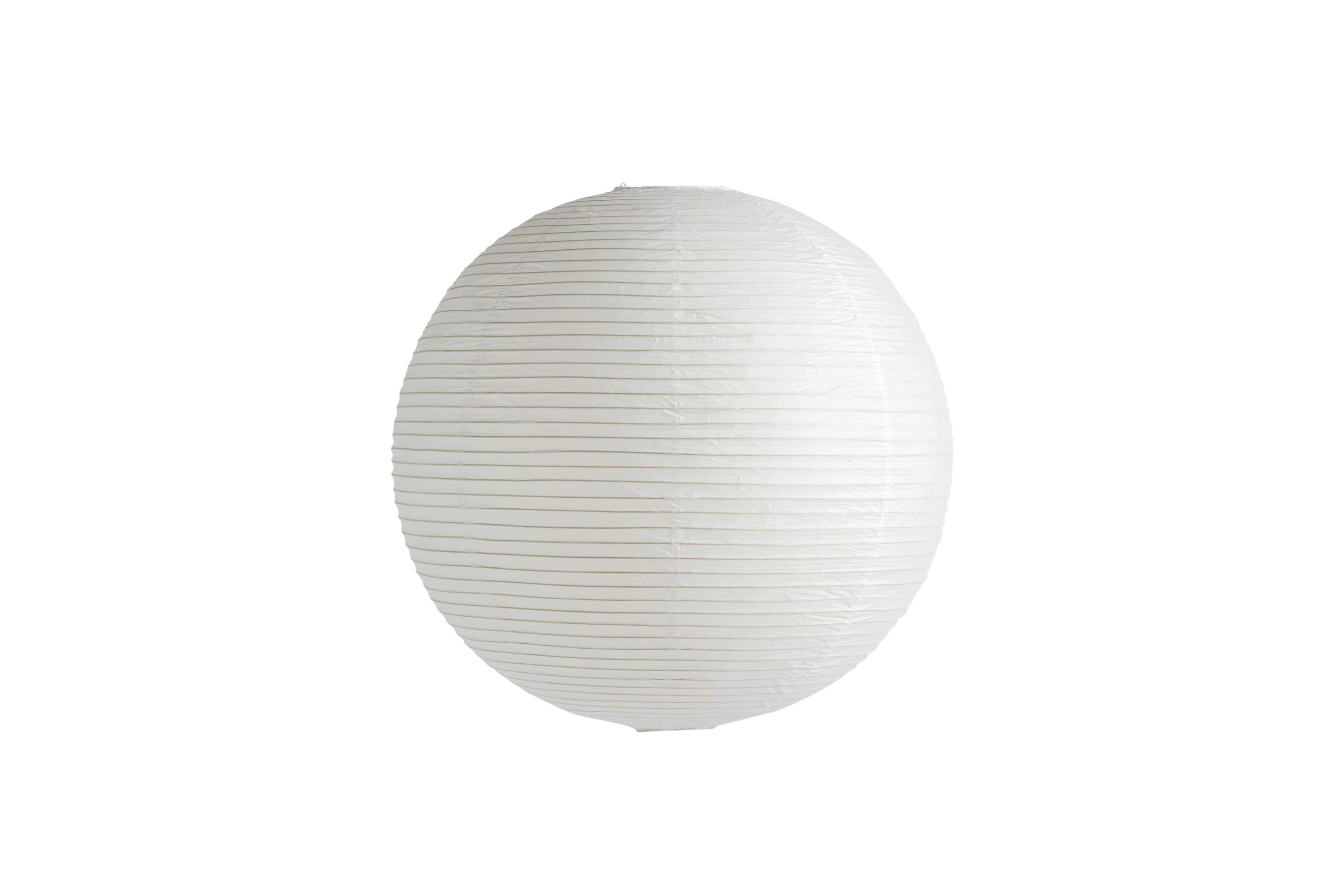 HAY Classic rispapir lampeskærm, Ø60 cm, hvid