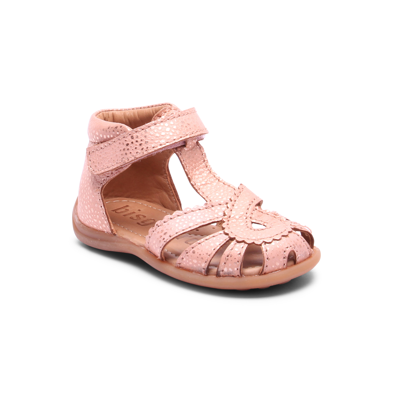 Bisgaard 71231 sandal, blush, 21