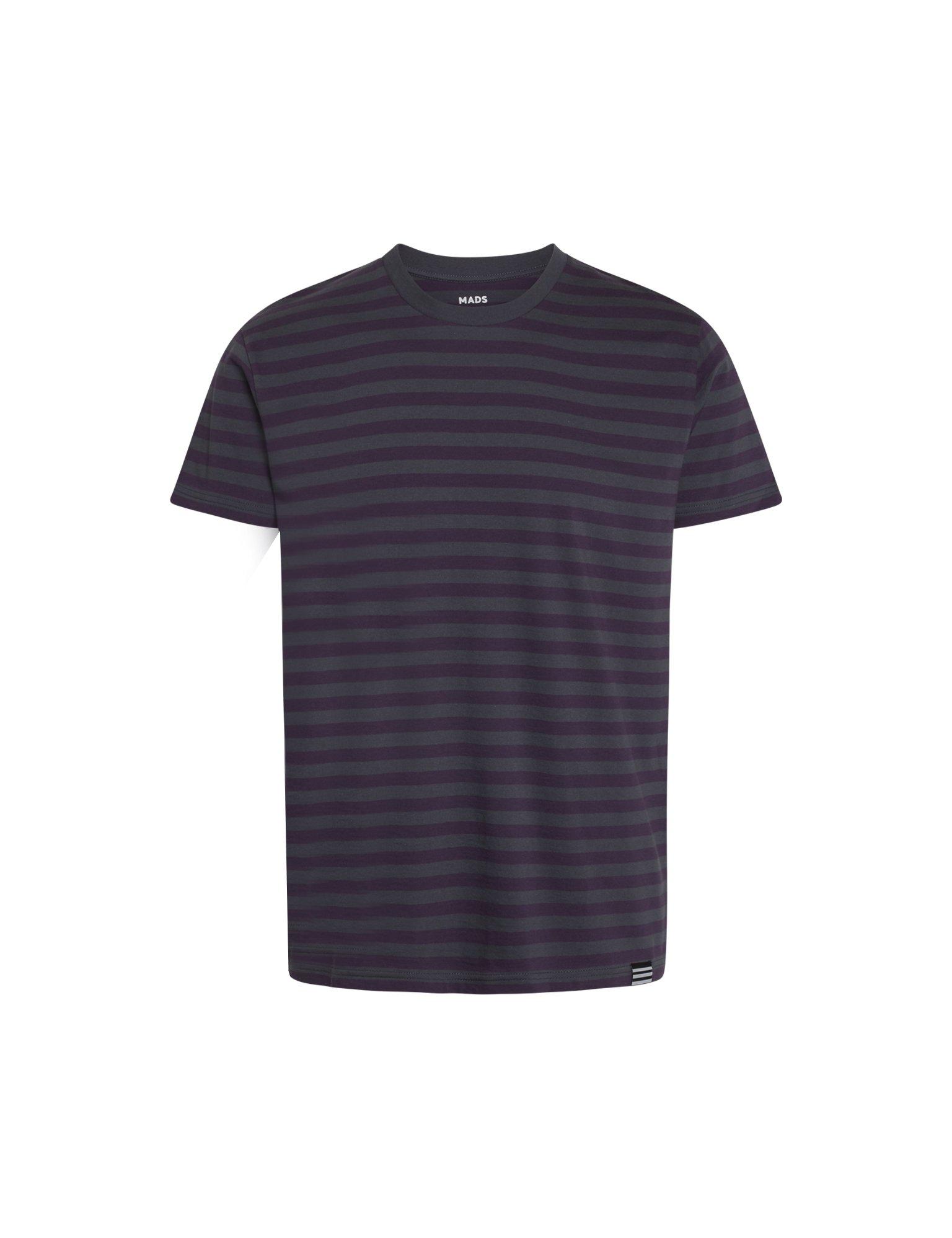 Mads Nørgaard Midi Thor t-shirt, ebony/nightshade, small