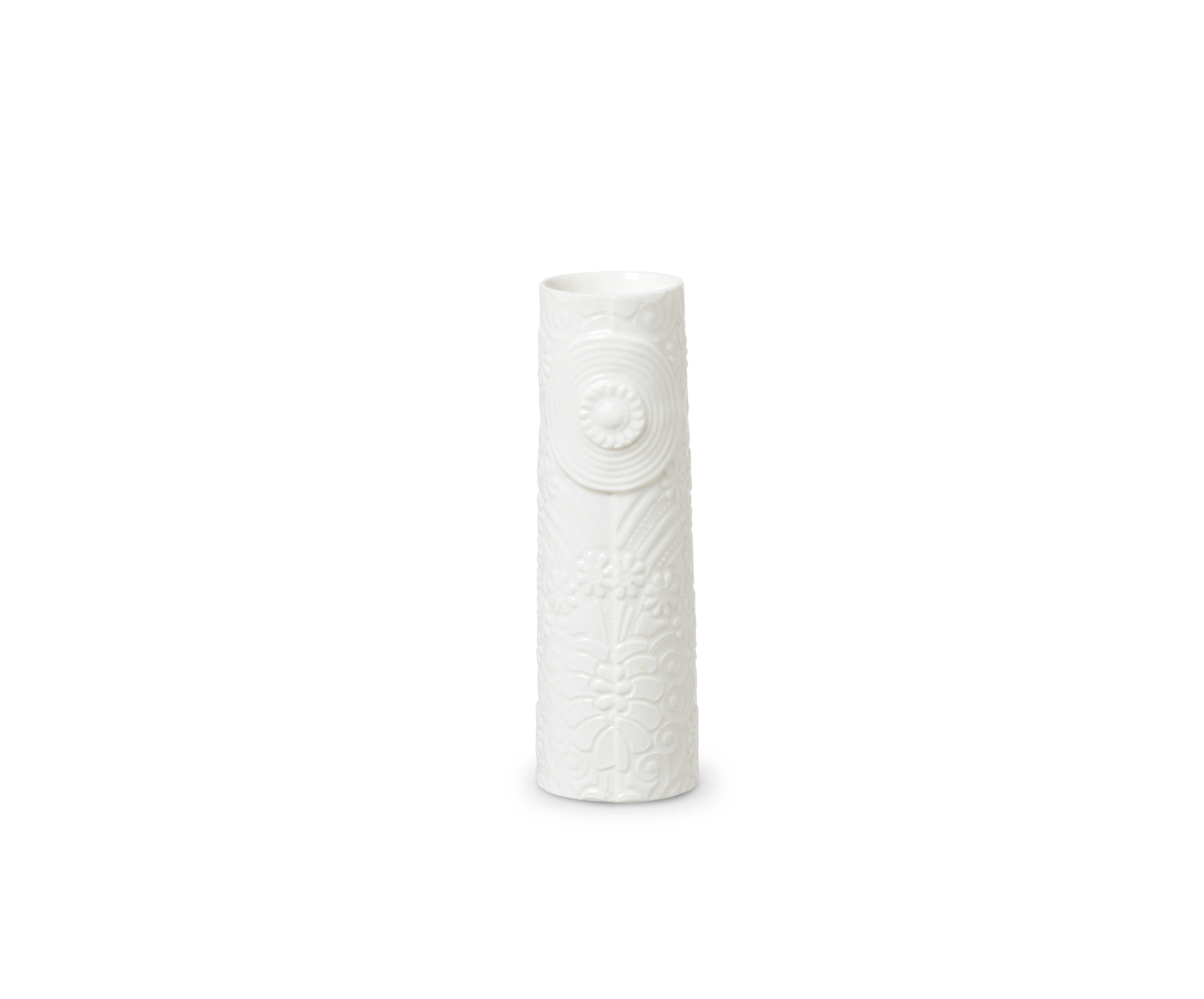 DOTTIR Pipanella Flower vase, mini, hvid