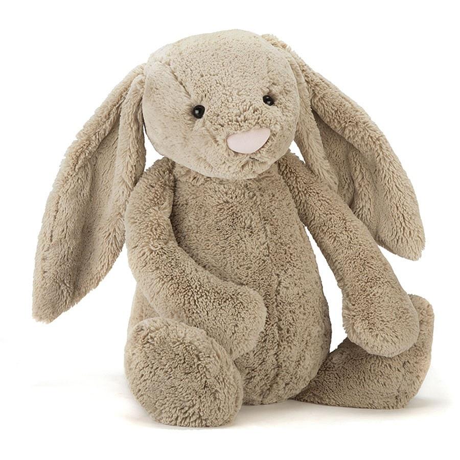 Jellycat, Bashful kanin, 18 cm, beige