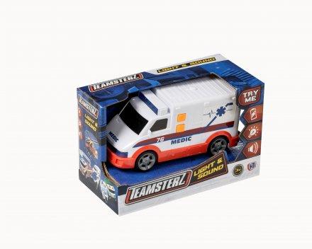 Teamsterz Ambulance med lys og blink