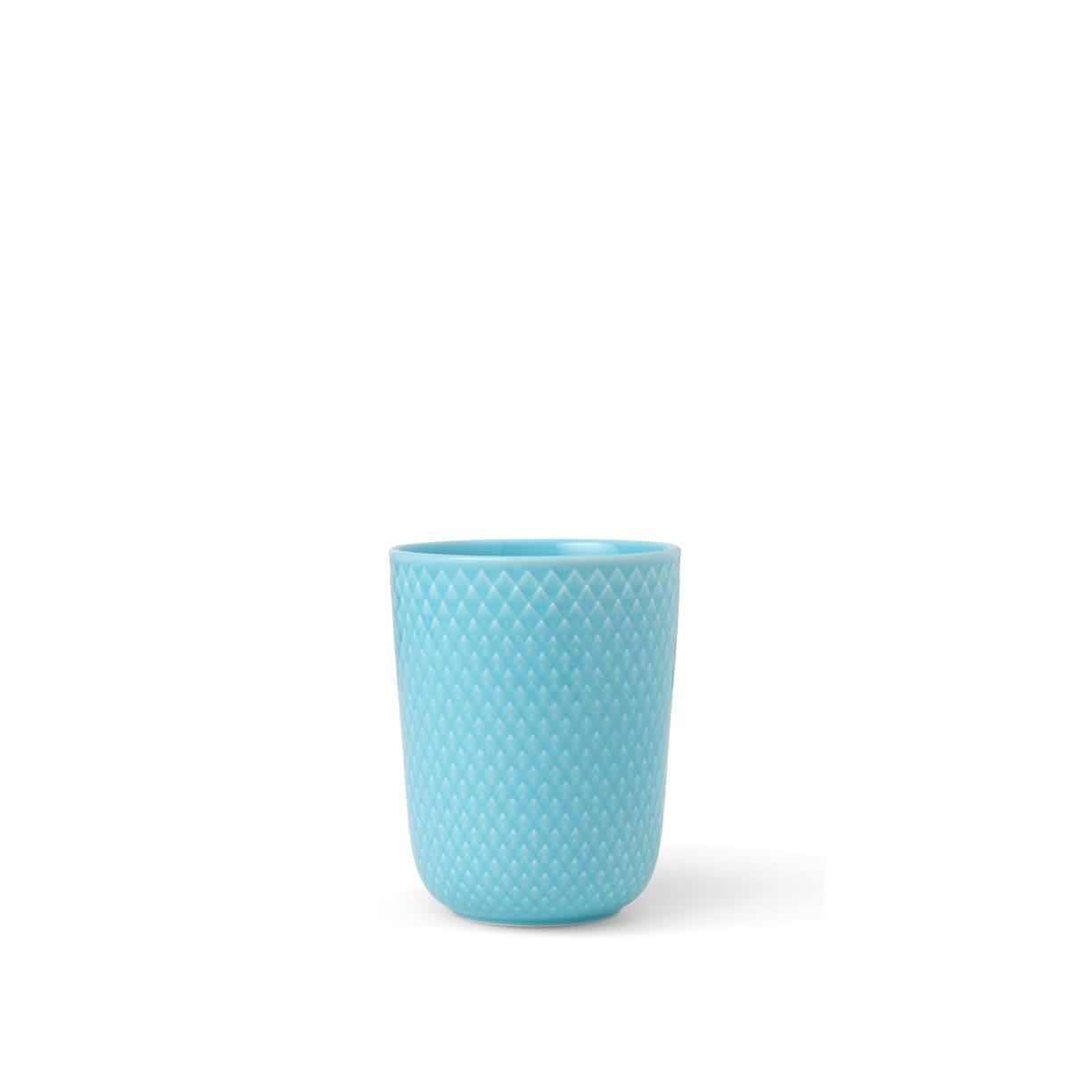 Lyngby Porcelæn Rhombe Color krus, 330 ml, turkis