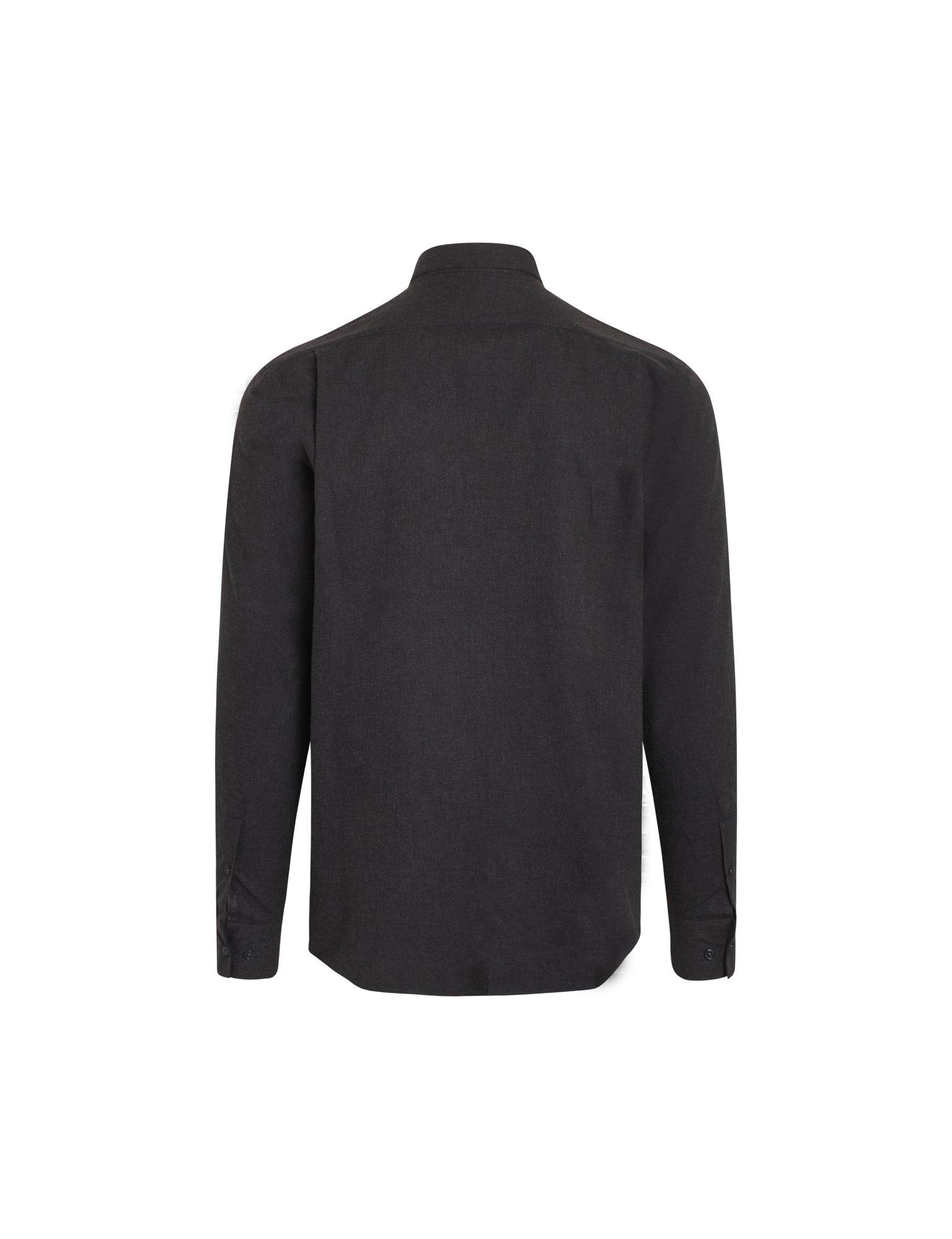Mads Nørgaard Flamel Saul skjorte, charcoal, x-large