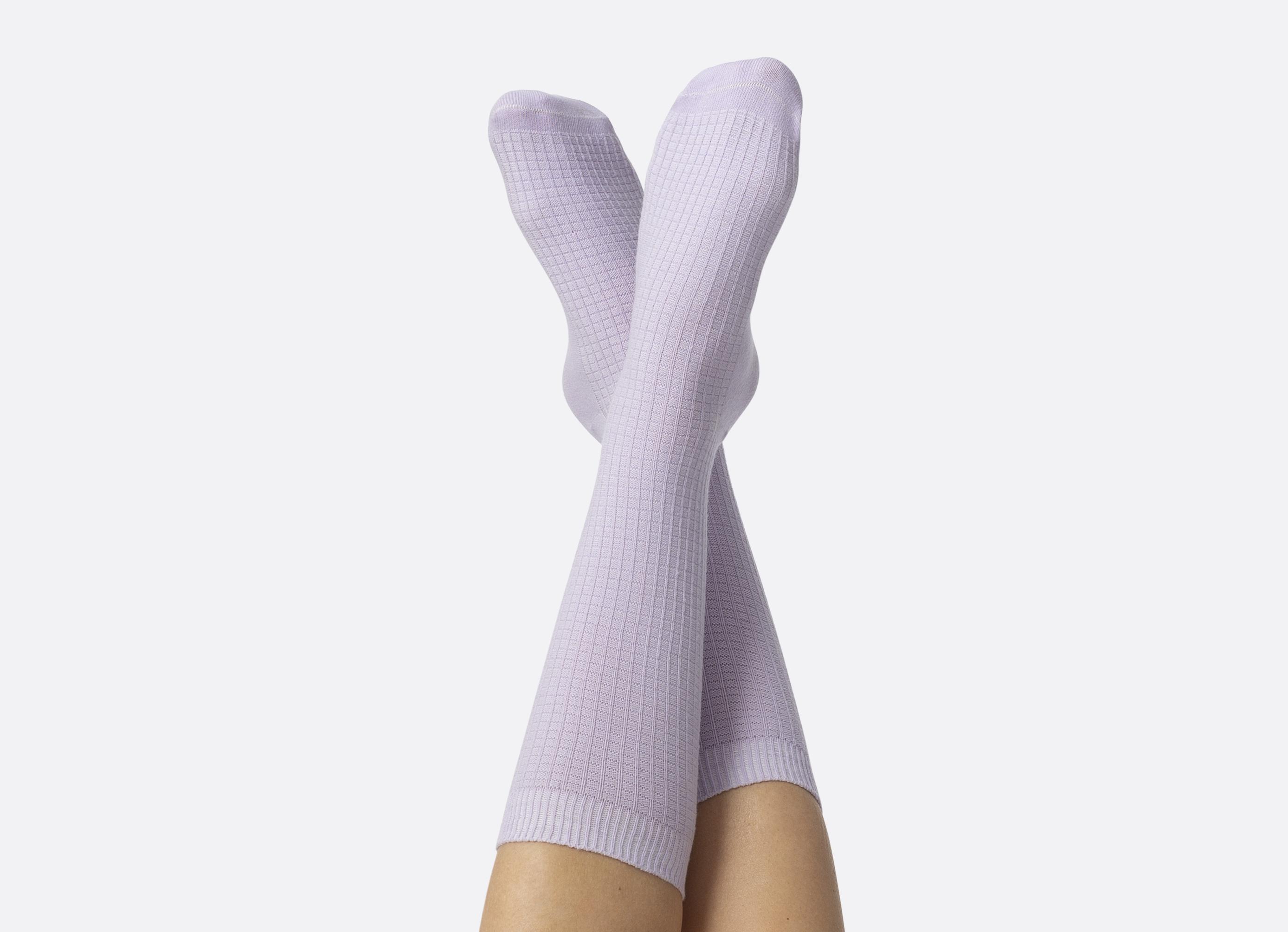 Doiy Yoga Mat strømper, lilla