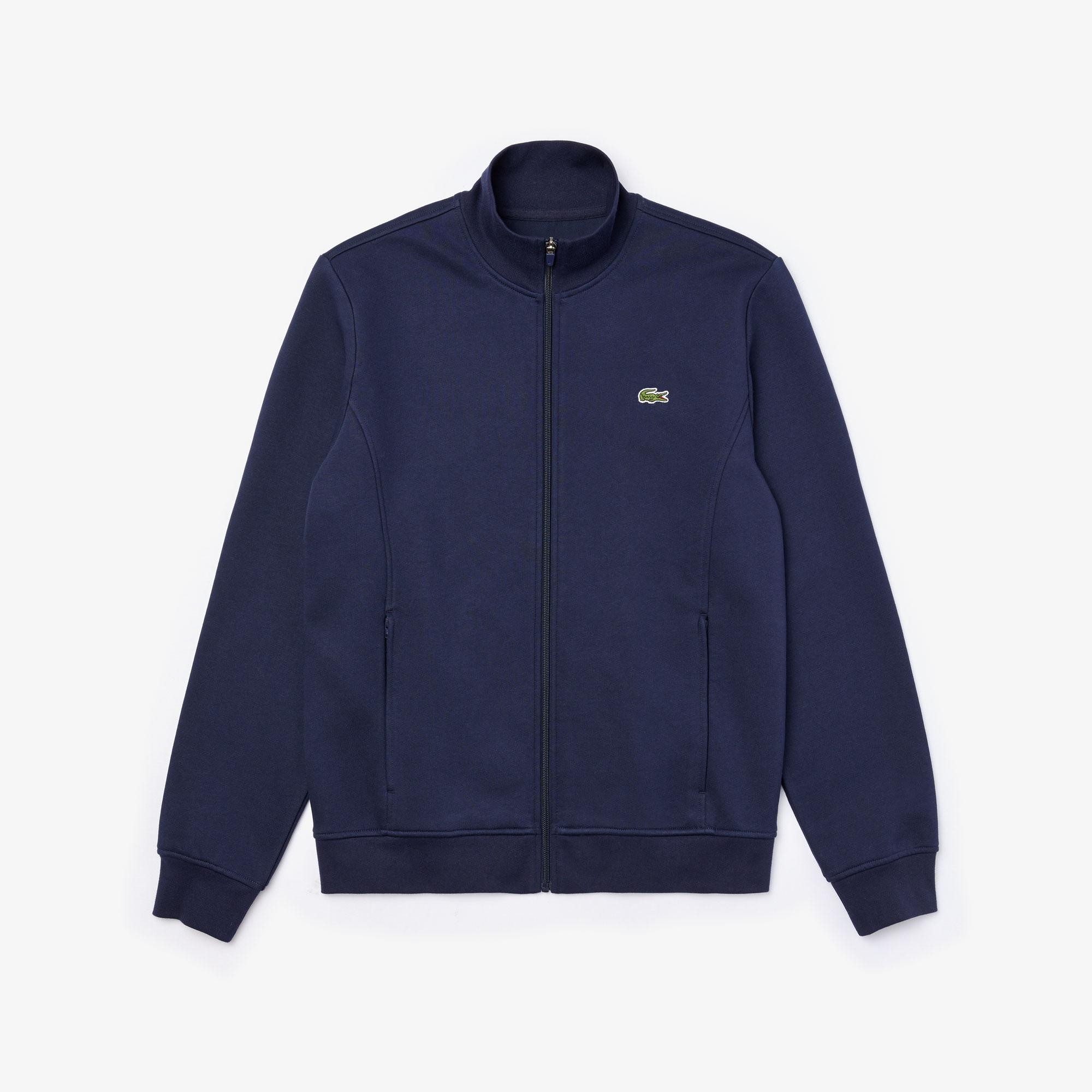 Lacoste Sport Zip Sweatshirt, Blå, L
