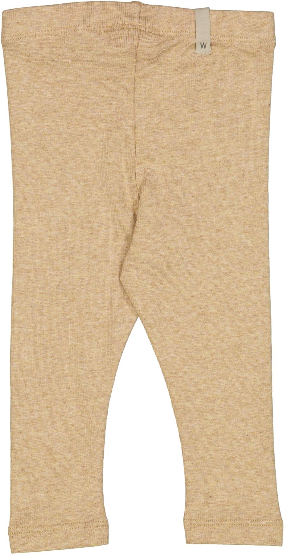 Wheat Rib leggings, sand , 74