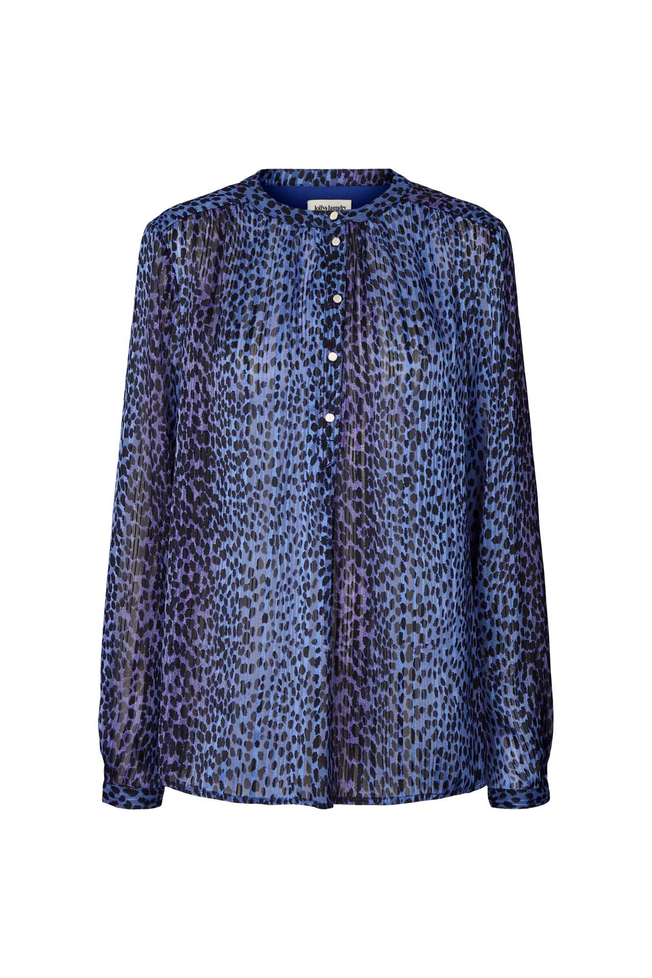 Lollys Laundry Singh skjorte, neon blue, x-large