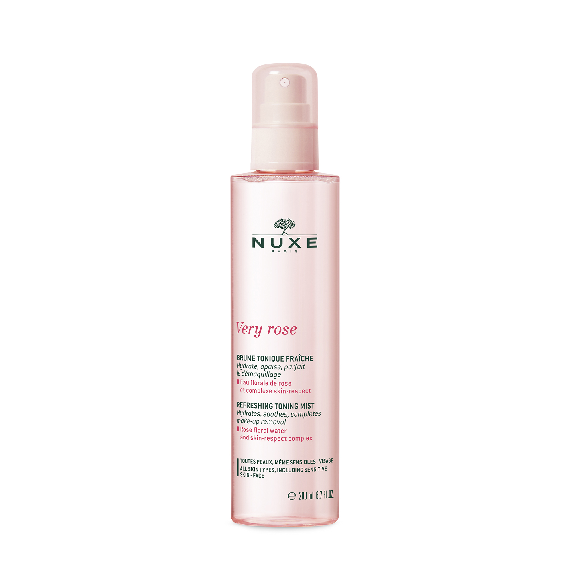 Nuxe Very Rose Refreshing Tonning Mist, 200 ml