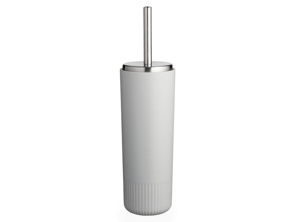 Södahl Plissé toiletbørste, light grey