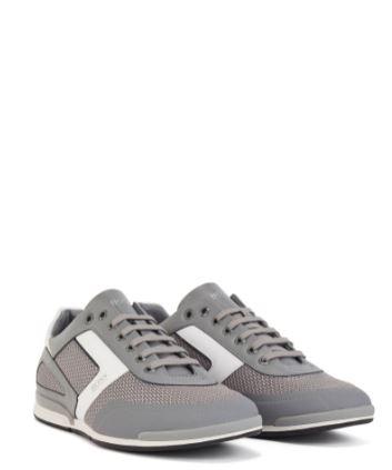 Boss Hybrid trainers, Grey, 40