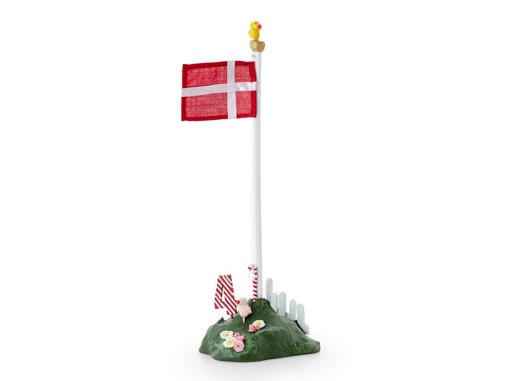 Medusa Copenhagen flagstang med tal, 34 cm