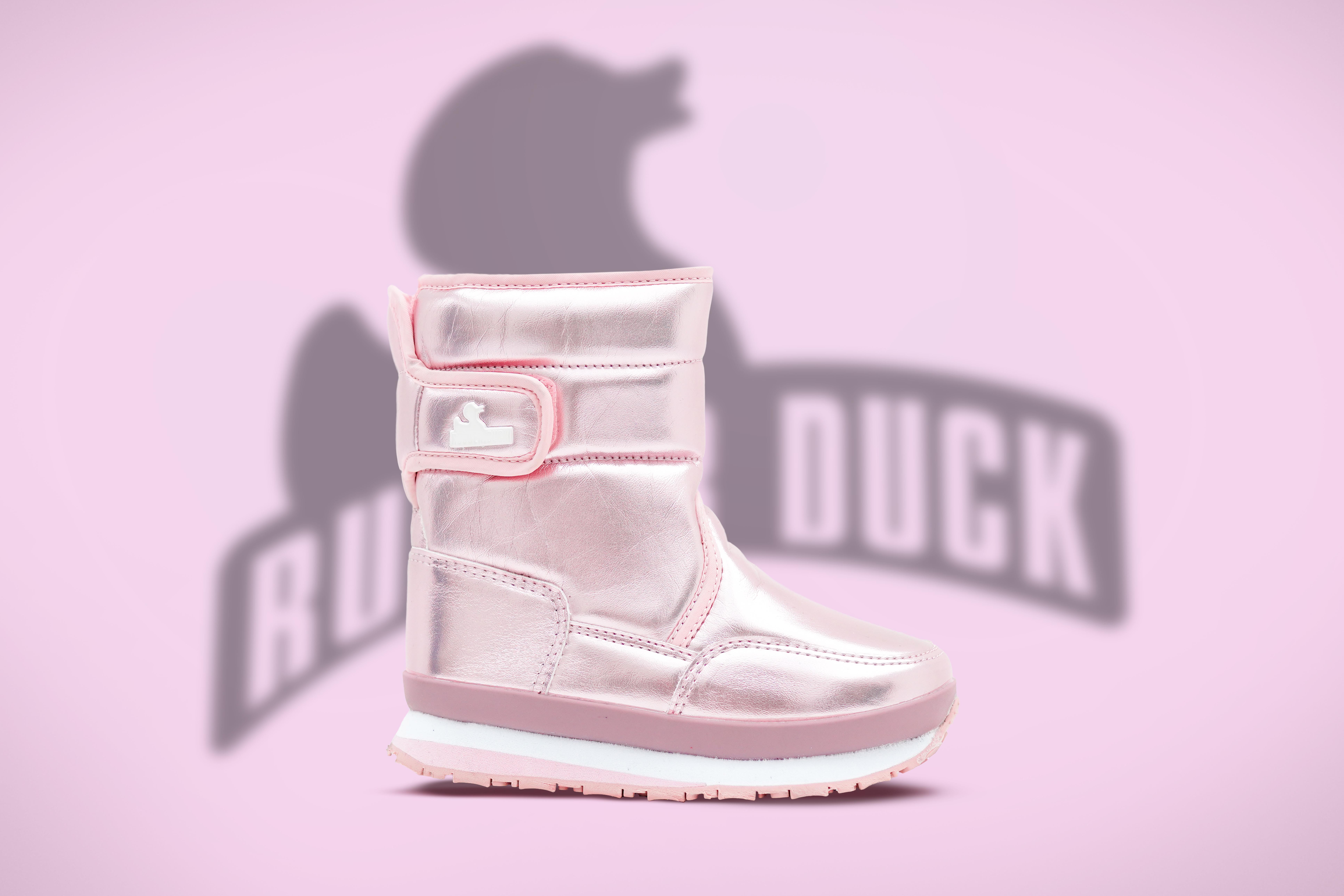 Rubber Duck Snowjogger støvle, pink pearl, 25