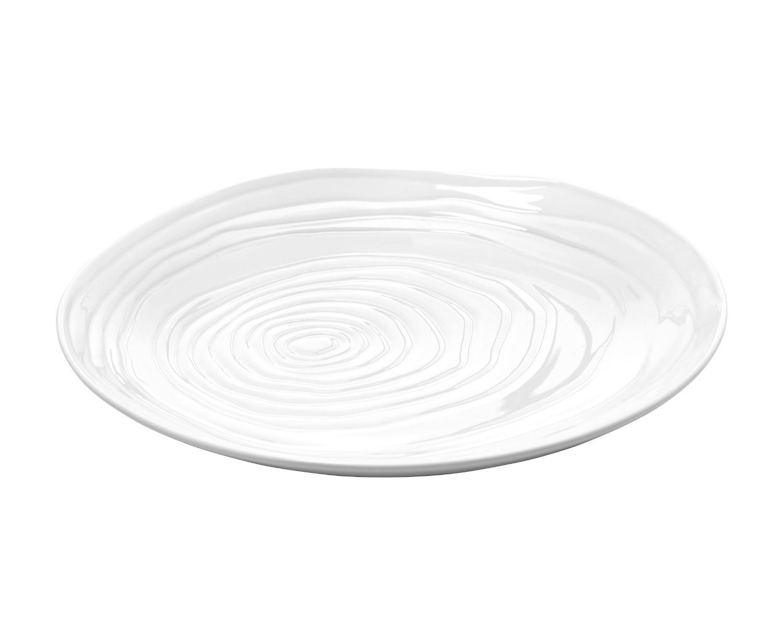 Pillivuyt Boulogne middagstallerken, Ø26,5 cm, hvid