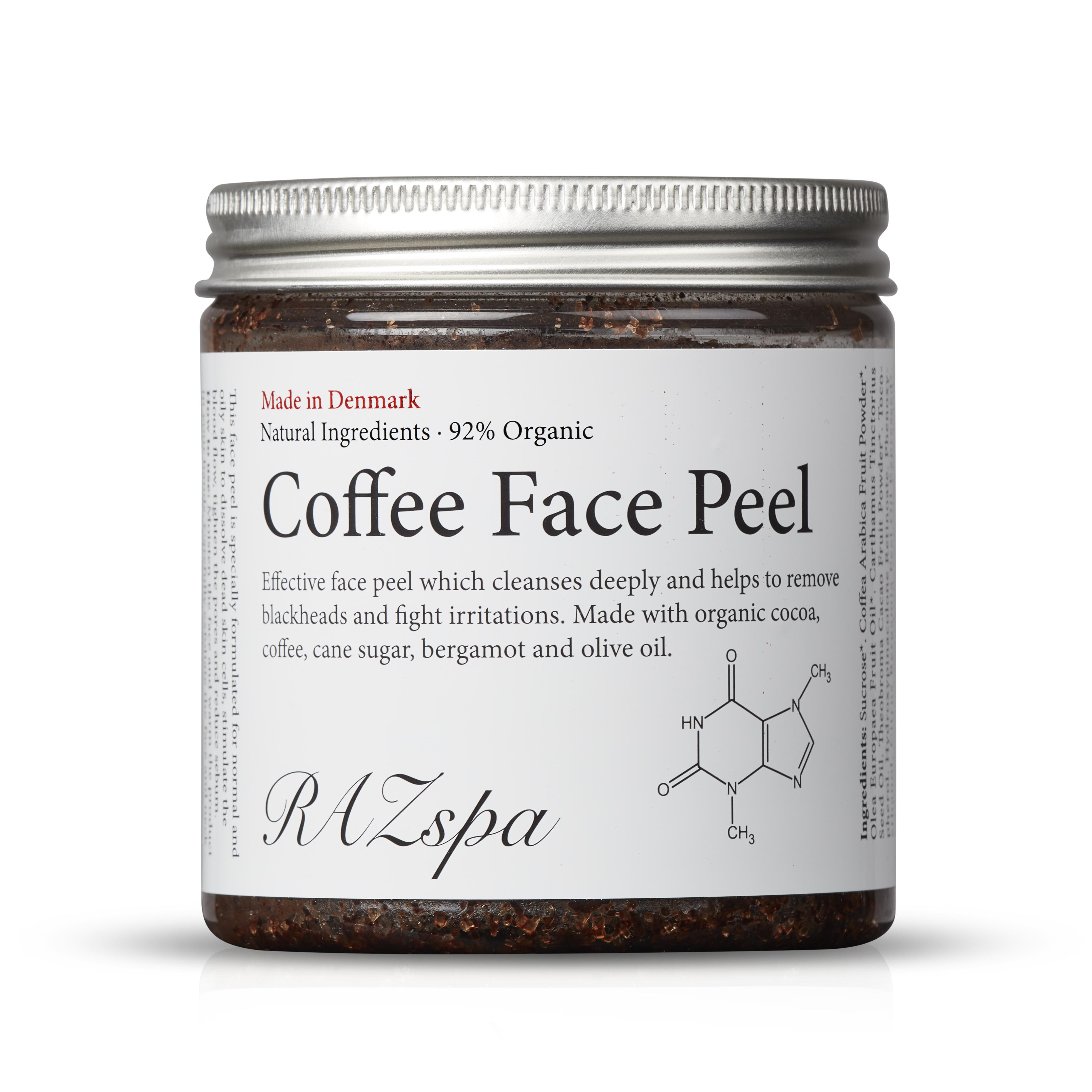 RAZspa Coffee Face Peel, 200 g