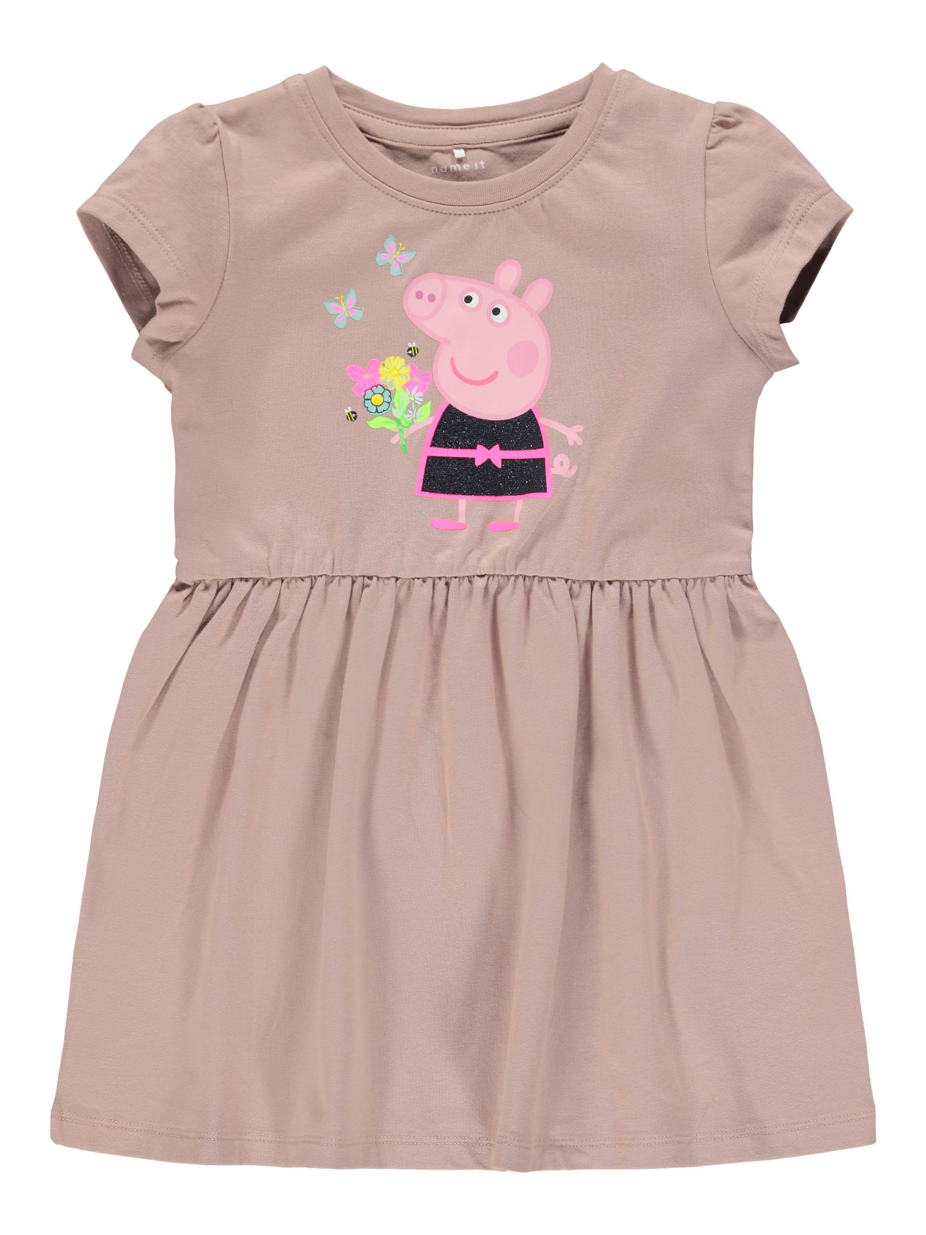 Name It Gurli Gris kjole, adobe rose, 104