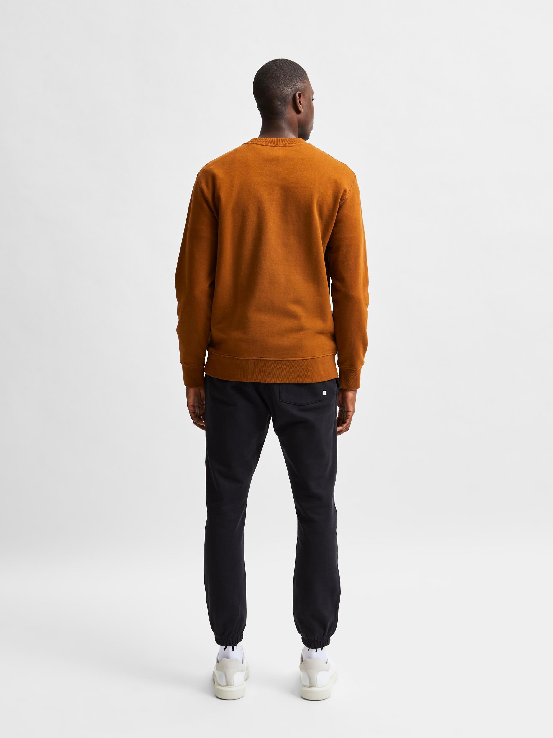 Selected Homme Jason Crew Neck sweatshirt, monks robe, x-large