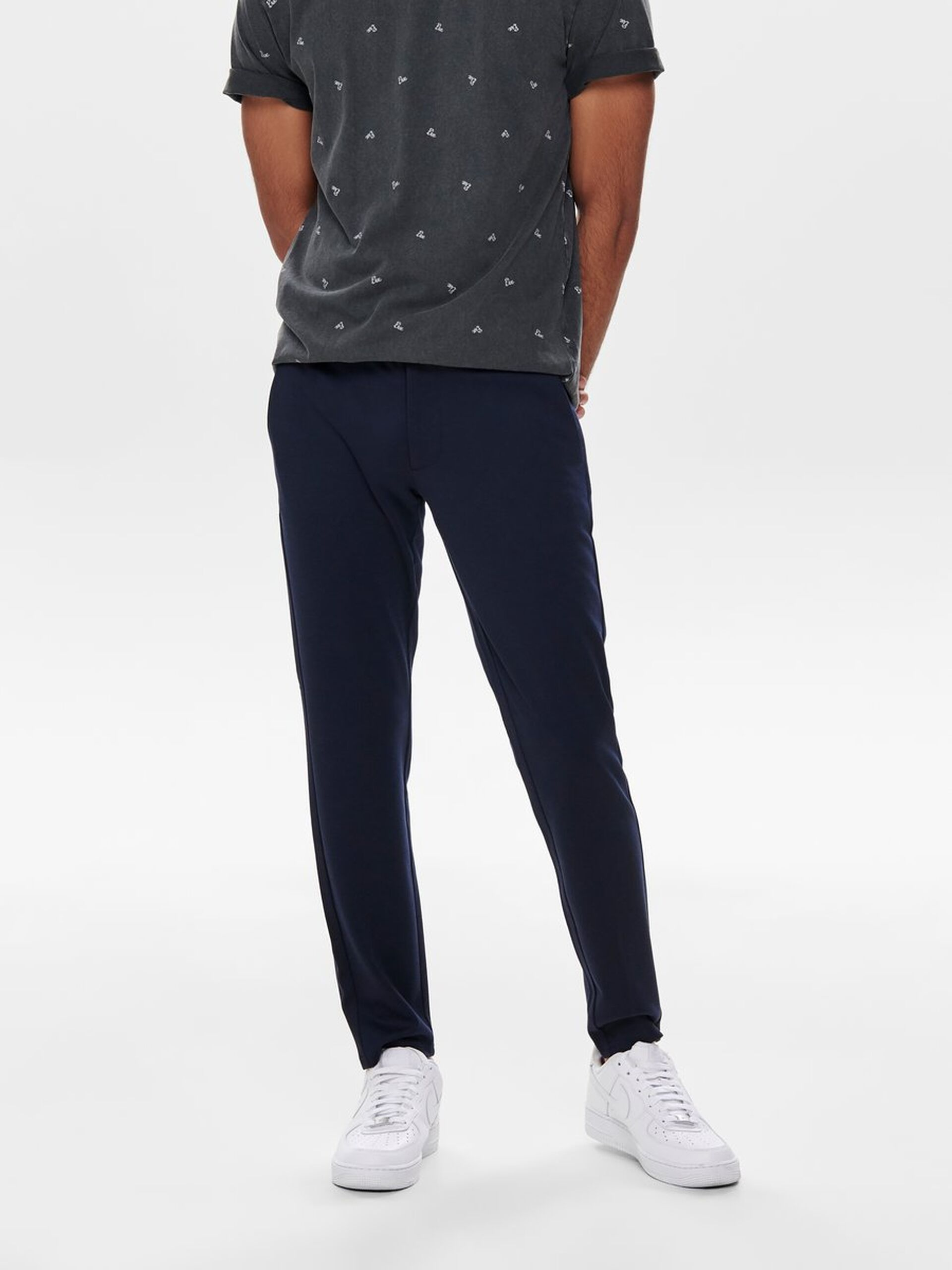 Performance Pants, Only & Sons, Mark chinos, night sky, 33/30