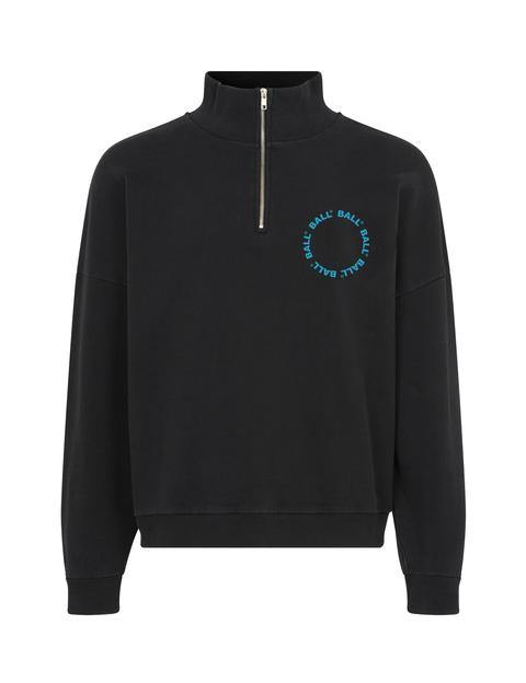 BALL Circle Half Zip sweatshirt